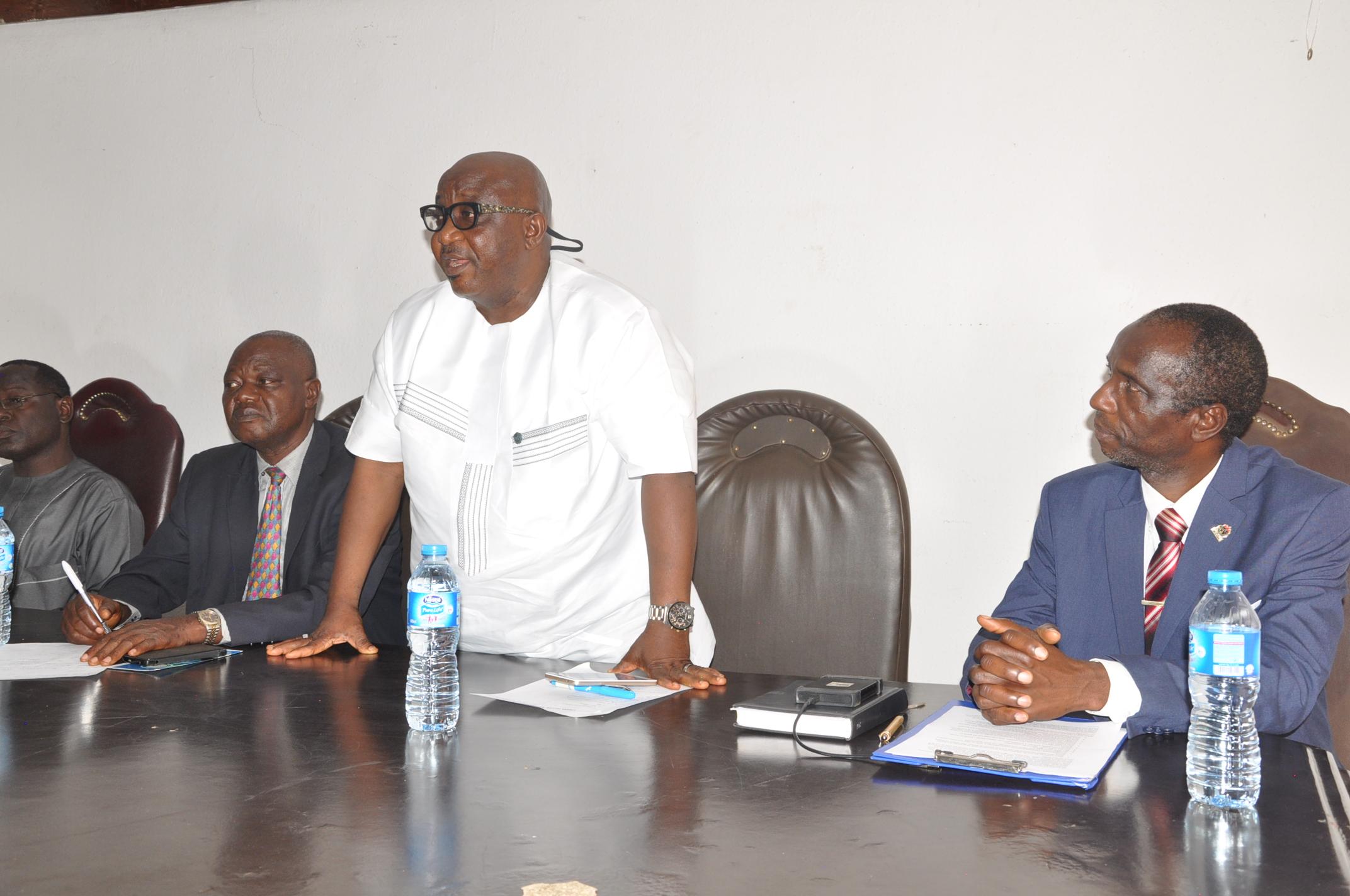 Mr. Francis Ukoh (UNIDO REP)@ UNIDO-HP LIFE Training