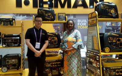 FIRMAN Country Director with NEF Admin Manager @the 126th CANTON FAIR