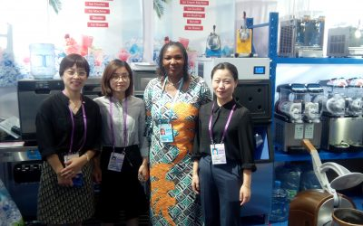 NEF OFFICIAL with Chinese Exhibitors @ the 126th CANTON FAIR
